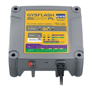 GYSFlash 20.12/24 PL Battery Charger Pic 1