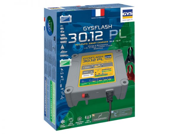 GYS Flash 30.12 PL Battery Charger Pic 4