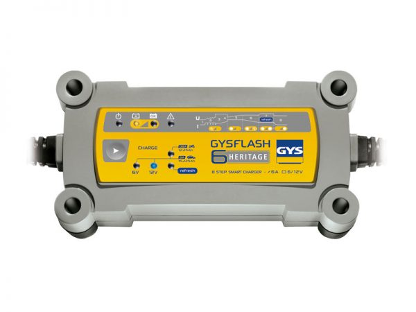 GYSFlash 6A Heritage Battery Charger Pic 1